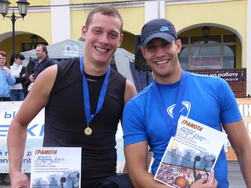 Фестиваль стритбола, посвященный дню города Владимира