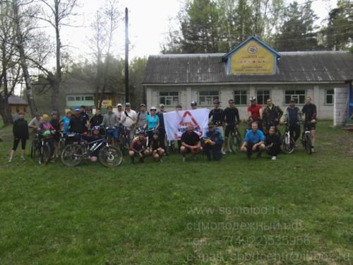 Велопробег в честь дня Победы в Великой Отечественной Войне
