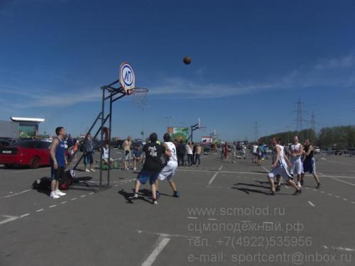 Турнир по стритболу, посвященный Дню Победы-2